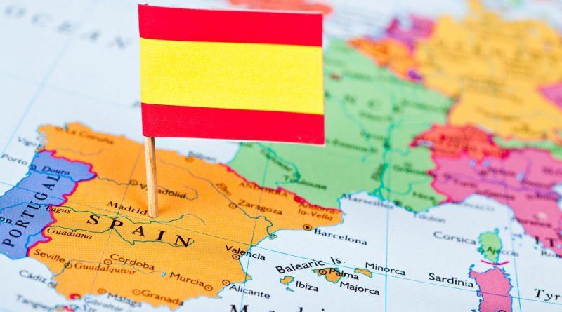в испанию